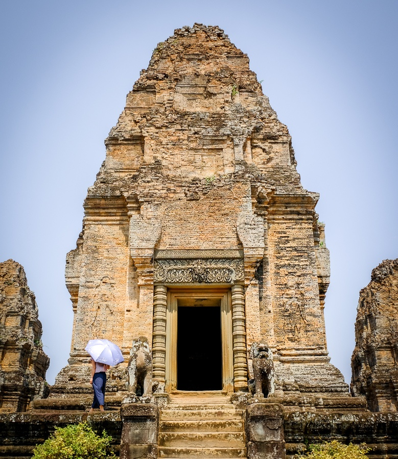 Leak Neang temple at the Angkor Wat in Cambodia