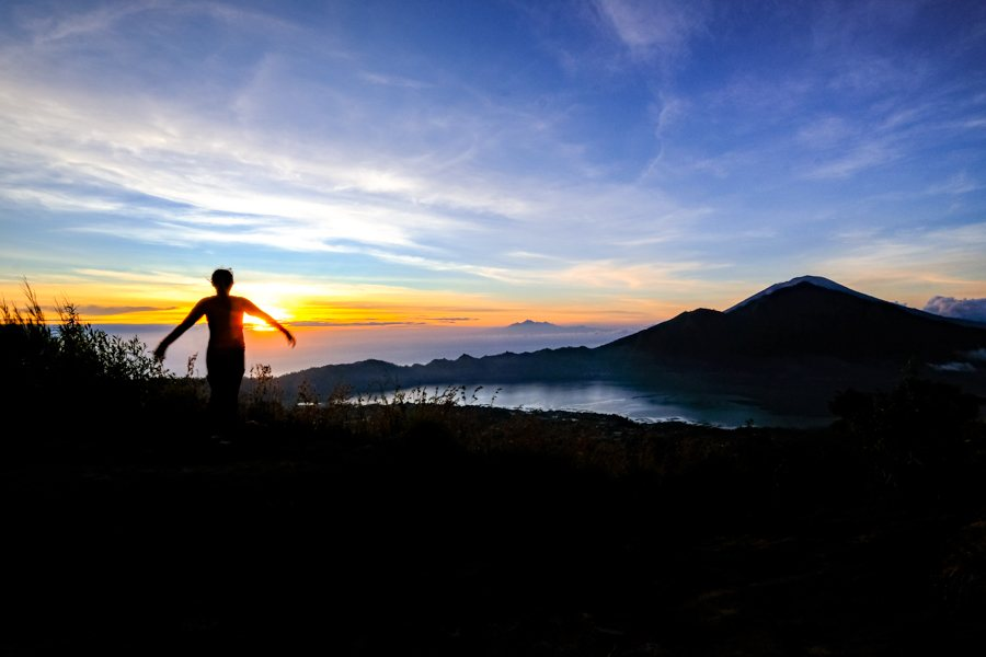 Batur sunrise from the top