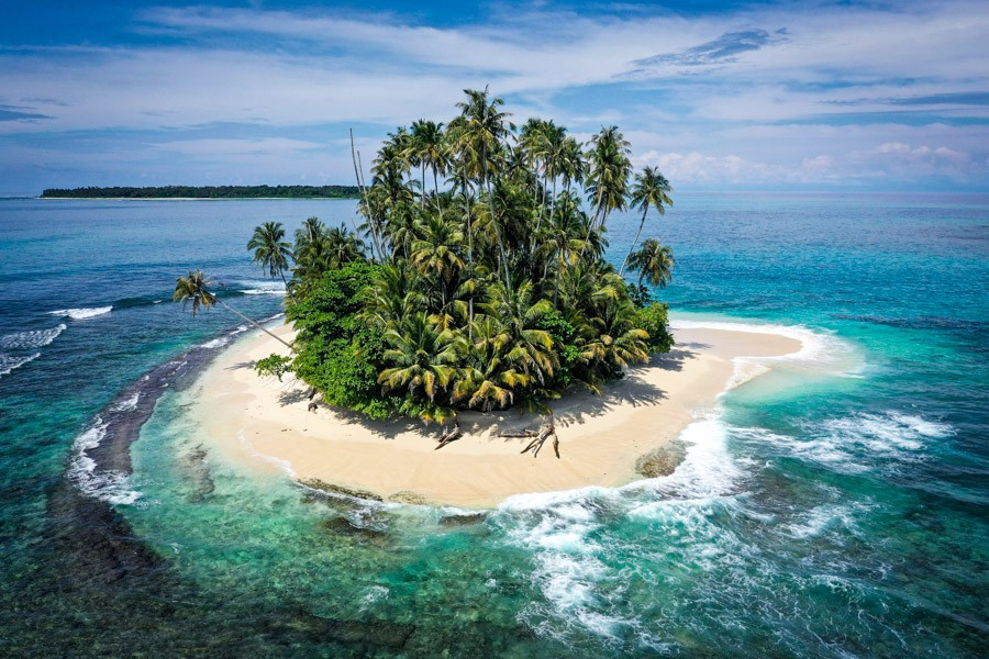 Pulau Banyak Islands Drone Picture From Sumatra Indonesia