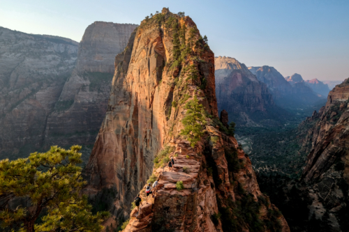 Angels Landing in Zion USA